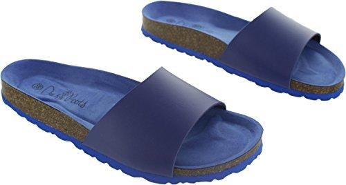 Bleu Roots pour Sandales Daisy Blue Tropical Bleu Femme TRfdq7w