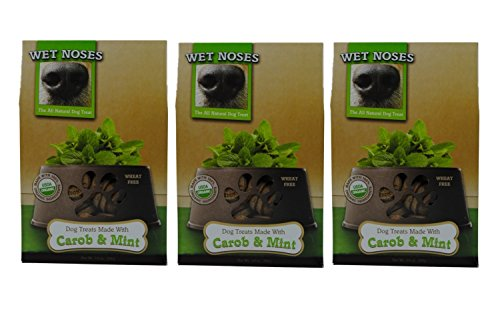 Wet Noses Carob & Mint Dog Treats, 14oz (Pack of 3)
