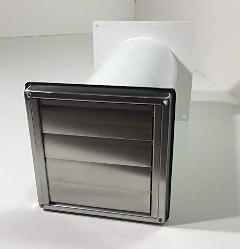 Diseño de la Gran Muralla de caja NW100 campana extractora campana de acero inoxidable válvula antirretorno telescópica de tubo MKWSQLE100BDS: Amazon.es: Hogar