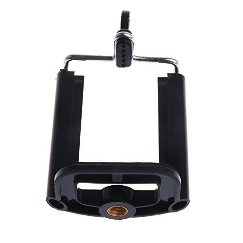 MonkeyJack Stand Clip Bracket Holder Monopod Tripod Mount Adapter for Selfie Stick for Phone Camera iPhone X/ 8/8 Plus 7/ 7 Plus/ 6S/ 6S Plus, Galaxy S7 Edge/ S7 / S8 / S8+ S8 Plus,G6 by MonkeyJack (Image #6)