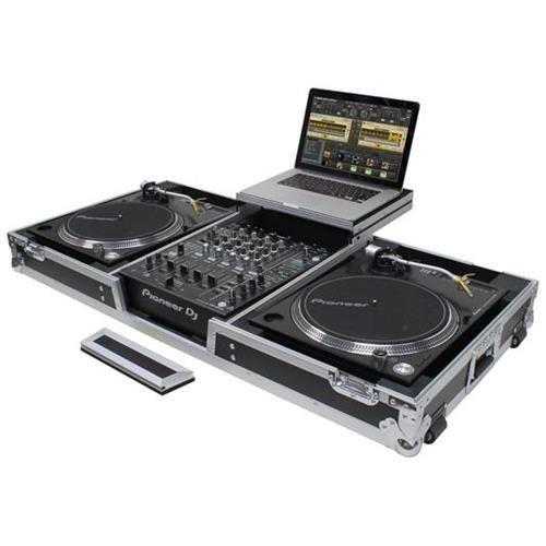 Odyssey Innovative Designs Flight Zone Low Profile Glide Style Series Universal Turntable DJ ()
