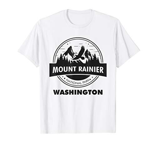Mount Rainier National Park WA Camping Hiking Lover Tshirt