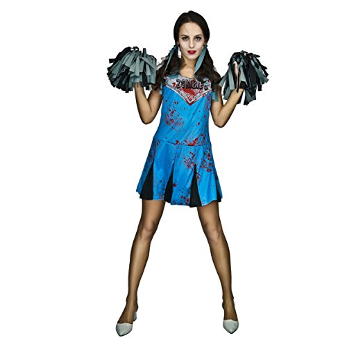 Women's Cheerleader Zombie Costumes