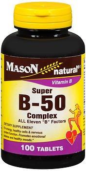 Mason Vitamins Super B 50 Complex All Eleven