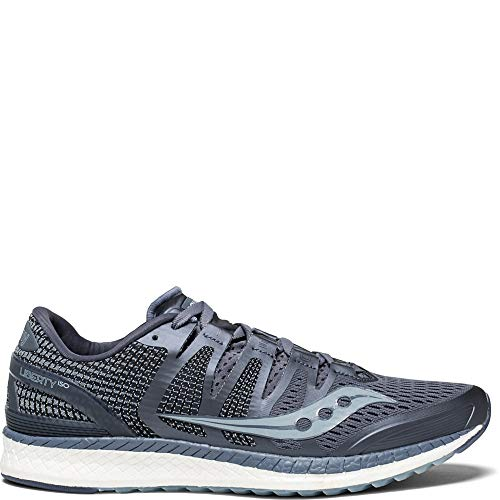 Saucony Men's Liberty ISO Shoes, Grey/Fog, 11
