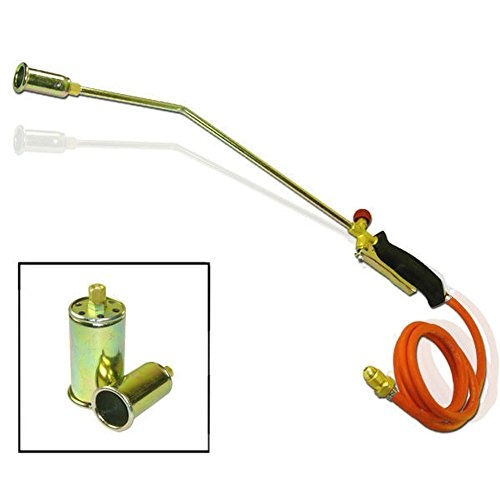 Domeiki Portable Propane Torch w/ 3 Nozzles Lawn Landscape Weed Burner Ice Snow Melter from Domeiki Home