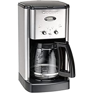 Cuisinart DCC-1200 Brew Central 12-Cup Coffeemaker Brushed Metal : Great Cup(s) of Hot Coffee