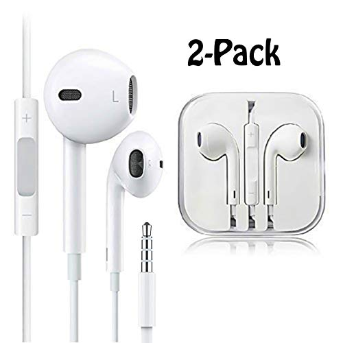Earbuds/Headphones/Eerphones with Mic&Remote Control Premium Aux Headphones 3.5mm Compatible with Samsung Phone Galaxy and Android Phones (Best Headphones For Samsung Galaxy)