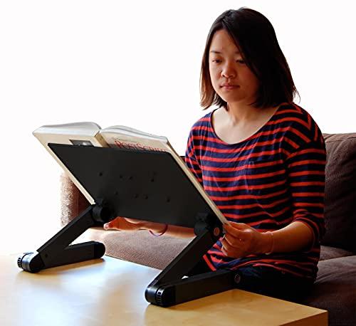 Adjustable Height and Angle Ergonomic Book Stand