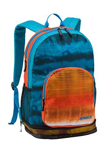 Speedo Super Sonic Backpack, Tie Dye Orange, 25 L