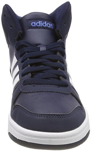 Adidas Enfants Chaussures Hautes Hoops 000 Pour maruni Vs Unisexes 0 2 Bleues Azretr Ftwbla Mid rHqZwrx8X