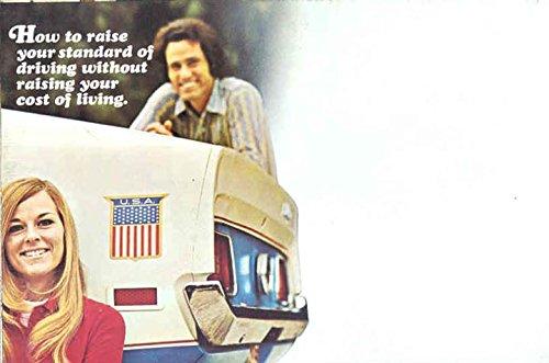 1972 Ford Sprint Brochure Maverick Mustang Pinto