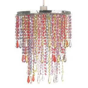 Petite beaded 3 tier chandelier lampshade multi coloured amazon petite beaded 3 tier chandelier lampshade multi coloured aloadofball Gallery
