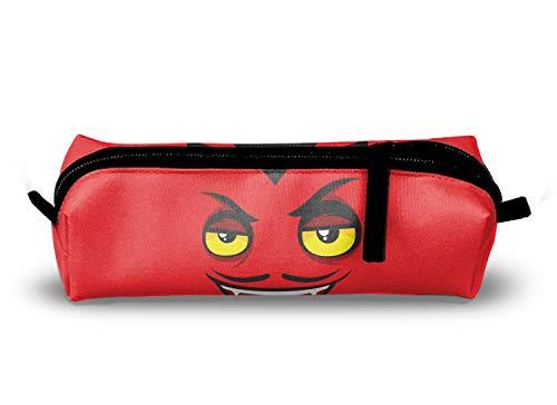 Halloween Devil Pencil Case Pouch Bag,Small Simple Pencil Pouch,Makeup Pouch School,Office -