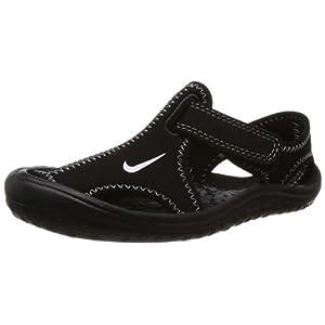 Nike Sunray Protect (Td) Toddler (13M US Little Kid, Black/White-Dark Grey)