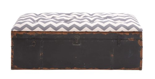 deco-79-97249-metal-fabric-storage-bench-48-x-18-multicolor