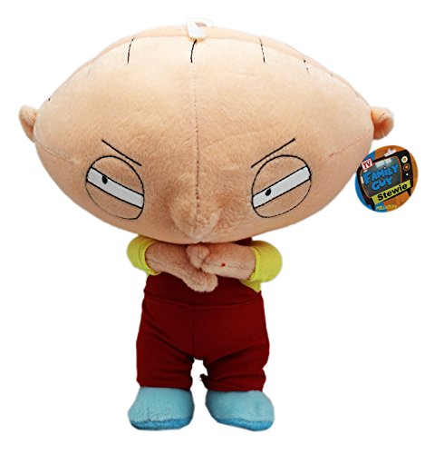 Stewie Griffin Family Guy - Family Guy's Stewie Griffin Conniving Eyes and Hands Small Plush Toy (12in)