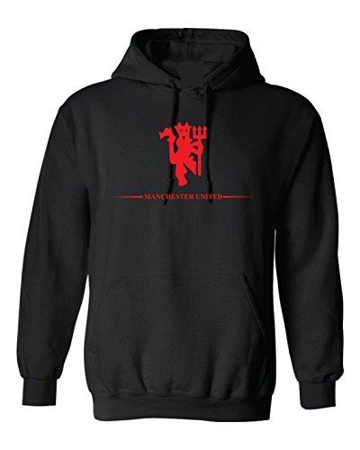 Local Imprint Manchester United Hoodie Xl Blk Rd U33