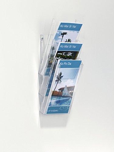 Durable Combiboxx 1//3 A4 Set L 1 unidad set de 3 piezas Archivador A4