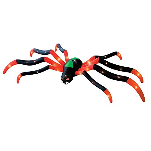 Halloween Inflatable LED Gigantic 20' Spider Airblown Holiday Yard -