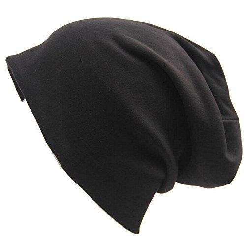 Otoño sombrero Cap mujeres naranja Gorro Naranja de Hat Casual Cap hip Beanie Invierno Unisex gorra Baggy para Slouch hombres hop Negro TININNA 4qTw58HY4
