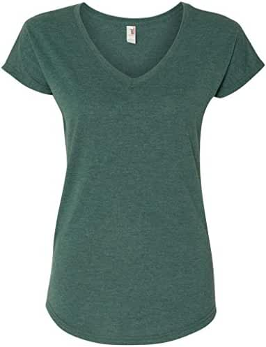 Yoga Clothing For You Ladies Hot V-neck Tee Shirt