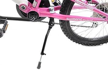 """Ammaco 16 """"-20 rueda plegable bicicletas Junior ajustable aleación de bicicleta infantil negro"""