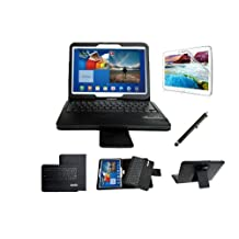 "myBitt Samsung Galaxy Tab , 10.1 Inch Portfolio Case with Bluetooth Keyboard (tab 4 10.1"")"