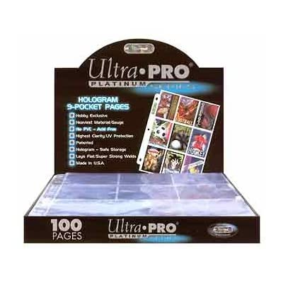 9 poches Pages Ultra Pro Platinum Lot de 20