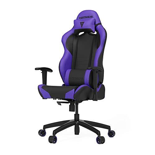 Vertagear SL2000_BP S-Line 2000 Racing Series Gaming Chair, Large, Black/Purple Vertagear