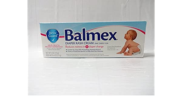Balmex Diaper Rash Cream 4OZ (Pack of 12): Amazon.com: Grocery & Gourmet Food