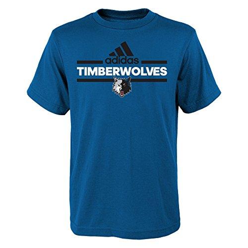 - Outerstuff NBA Youth 8-20 Minnesota Timberwolves Replen Mini Dassler Short Sleeve Tee-Capital Blue-XL(18)