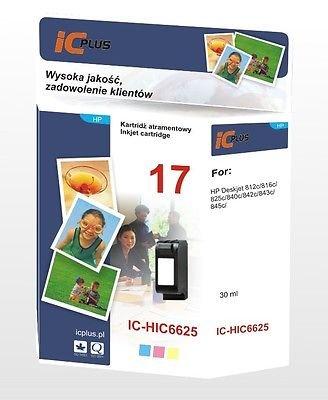 TRI-COLOUR INK CARTRIDGE FOR HP 17 C6625A DESKJET 845c 825cse 825cvr - Colour Tri 17 Ink