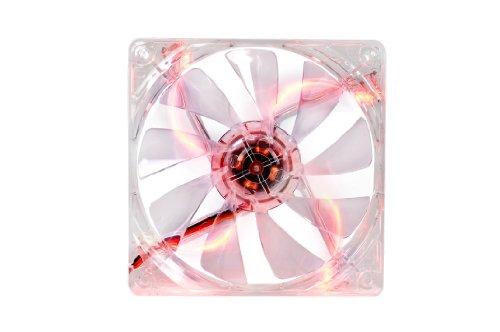 Ventilador Thermaltake 120mm Pure 12 Series Red LED Quiet Hi