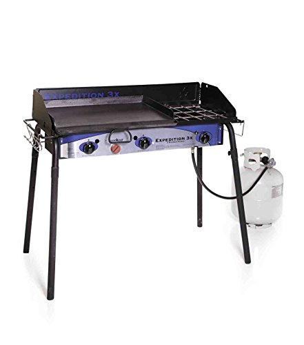 - Camp Chef Expedition 3X 3 Burner Stove One Size