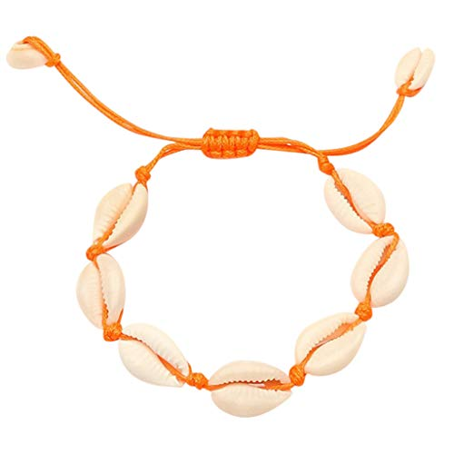 Yaseking Shell Bracelet Summer Hawaiian Beach Woven Seashell Bracelets