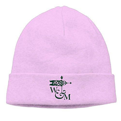 OPUY Unisex College Of William And Mary Beanie Cap Hat Ski Hat Cap  Snowboard Hat Pink 3c5c63e1897c