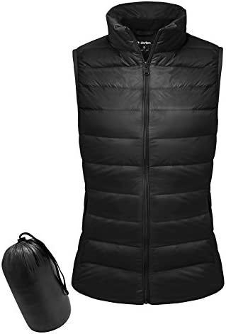 Wancy Womens Hooded Puffer Coat Lightweight Packable Long Down Jacket Outerwear Plus Size