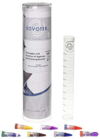 Edvotek 101-C Principles and Practice of Agarose Gel Electrophoresis for 24 Gels