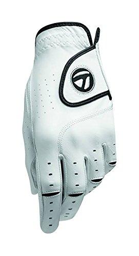 Custom Golf Gloves - TaylorMade TM15 Targa Gloves, Right Hand, X-Large, White