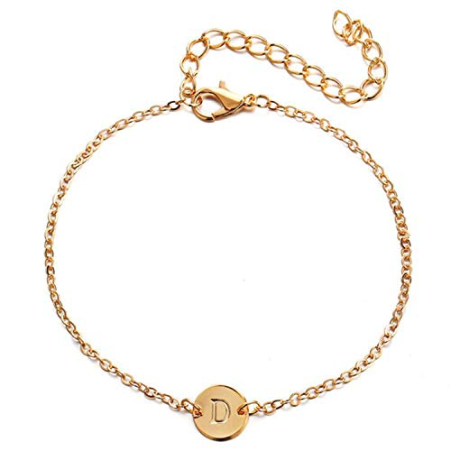 Coin Letter Anklets Fashion Beach Anklet Bracelet Design Jewelry Gifts ()