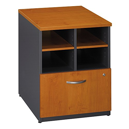 - Bush Business Furniture Series C Collection 24W Piler Filer in Natural Cherry