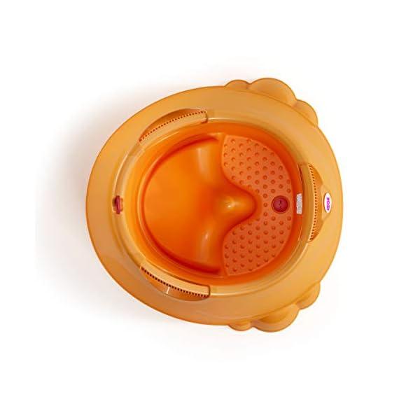 OKBABY Oplà 38134530 Vaschetta per il Bagnetto del Neonato, 12-36 Mesi, Arancione 4