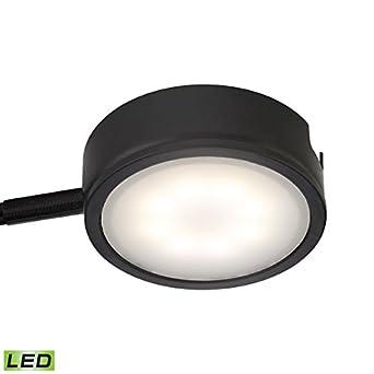 Amazon.com: Alico Tuxedo LED Under Cabinet Lighting in Black ...