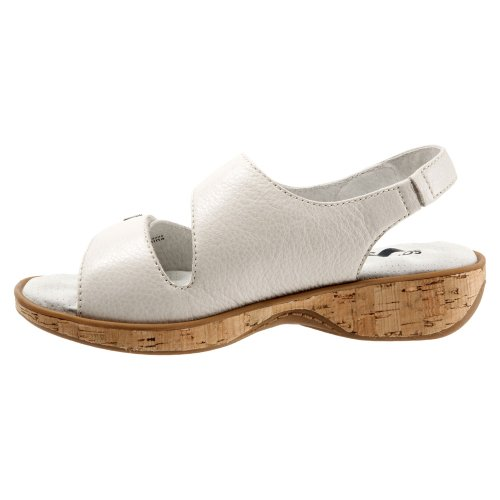 Bolivia Women's Sandal Wedge Softwalk White Off Y7OnxWWH