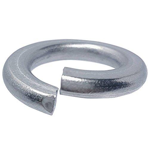 1/2'' Medium Split Lock Washers, Stainless Steel 18-8, Plain Finish, Quantity 50 by Fastenere (Image #2)