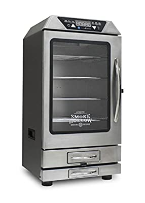 Smoke Hollow D4015SS 40-Inch Digital Electric Smoker with Smoke-Tronix Bluetooth Technology, Stainless Steel by Smoke Hollow