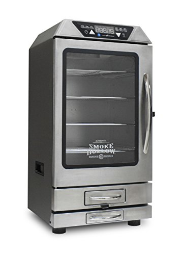 Smoke Hollow D4015SS 40'' Digital Electric Smoker with Smoke-Tronix Bluetooth Technology , Stainless Steel by Smoke Hollow