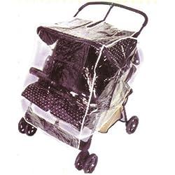Babyroues Twin Stroller Weathershield/Raincover