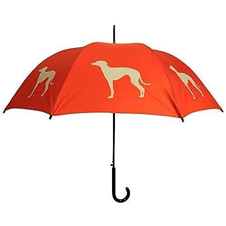 La sombrilla, Galgo, color naranja y gris de San Francisco Por La Compañía de paraguas de San Francisco: Amazon.es: Productos para mascotas